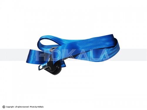 نوار کمربند ایمنی جلو رنگی (آبی) هیدیکا اصل ایران مناسب برای کلیه خودروها