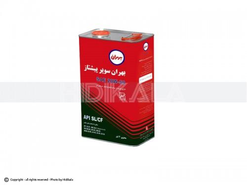 روغن موتور بهران سوپر پیشتاز 4لیتری 20W50 اصل ایران