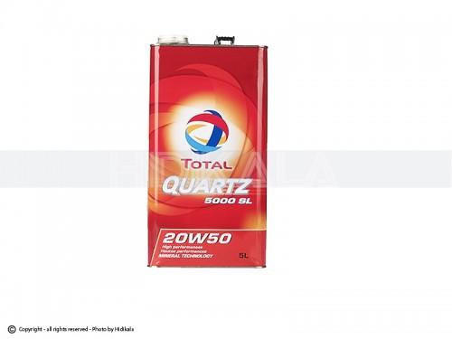 روغن موتور(5000) TOTAL-توتال 5لیتری 20W50 اصل امارات
