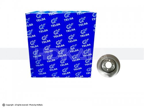 دیسک ترمز جلو ال90(تندر-رنو) تلدا-TELDA اصل ايران (2عدد)