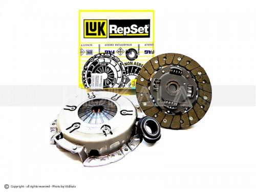 دیسک و صفحه و بلبرینگ(کیت کلاچ) ال90(تندر-رنو) لوك-LUK اصل آلمان شماره فنی: 620108000