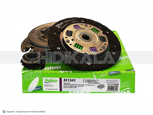 دیسک و صفحه و بلبرینگ(کیت کلاچ) ال90(تندر-رنو) والئو-VALEO اصل تركيه شماره فنی:826578
