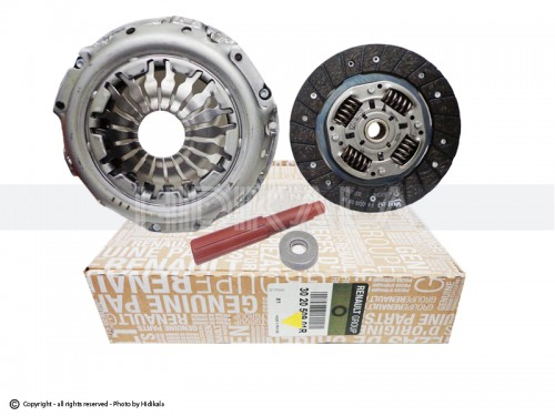 دیسک و صفحه(بدون بلبرینگ) کلاچ مگان1600 اورجینال-ORIGINAL اصل فرانسه