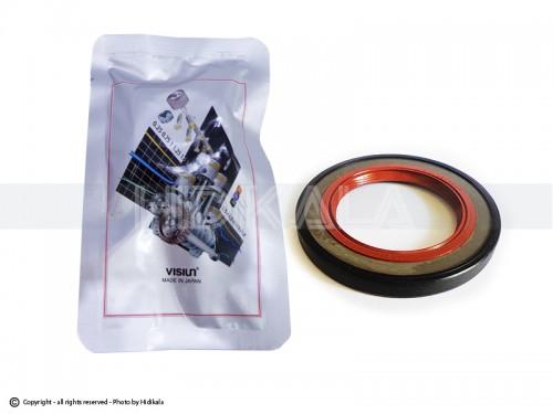 کاسه نمد سر میل لنگ ویژن-VISIUN اصل ژاپن مناسب برای پژو206/رانا/پژو207