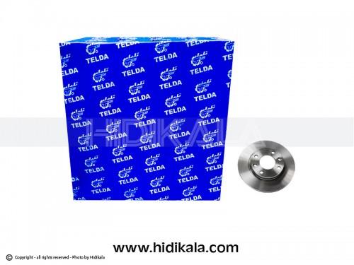 دیسک ترمز جلو پژو206تیپ2,3 تلدا-TELDA اصل ايران (2عدد)