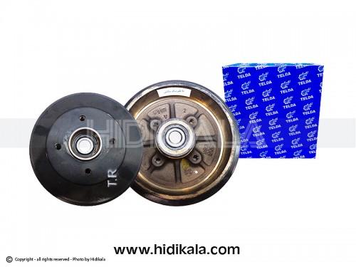 کاسه ترمز چرخ عقب(با بلبرینگ)مگنتی (با ABS) پژو206تیپ2,3/پژو206 SDV6,V19,V20 تلدا-TELDA اصل ايران (1عدد)