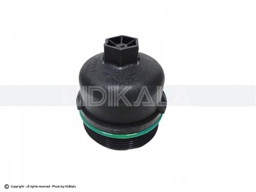 درپوش فیلتر روغن کوتاه (پلاستیکی)  هیدیکا اصل ايران مناسب برای پژو 206/پژو207/پژو 405 TU5/پارسTU5/سمندTU5/رانا (ارتفاع فیلتر 7cm)