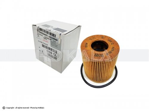 فیلتر روغن کوتاه اورجینال-ORIGINAL اصل اروپا-EU مناسب برای پژو 206/پژو207/پژو 405 TU5/پارسTU5/سمندTU5/رانا (ارتفاع فیلتر 7cm)