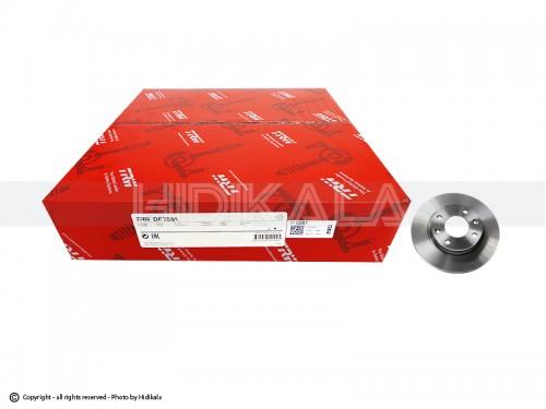 دیسک ترمز عقب تی-آر-دابلیو-TRW اصل اروپا-EU مناسب برای پژو206تیپ5,6/پژو206 SDV8,V9 /پژو207/رانا (2عدد)