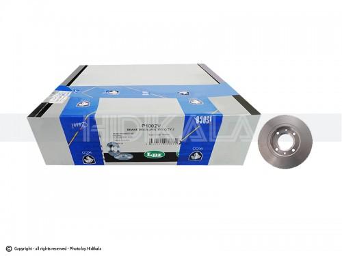 دیسک ترمز جلو ال-پی-آر-LPR اصل ايتاليا مناسب برای پژو206 تیپ5,6/پژو206 SDV8,V9/پژو207/رانا/پژو206تیپ2مدل بالایی (2عدد)