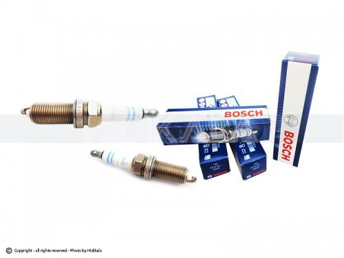 شمع پایه بلند بوش-BOSCH اصل روسیه مناسب برای پژو206 تیپ 5,6/پژو206 V8,79 SD/رانا/پژو207/پژوTU5 405/پارسTU5/سمندTU5 (4عدد) شماره فني (79001) FR8SC+42