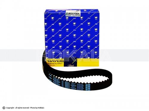 تسمه تایم دایکو-DAYCO شرکتی ایساکو اصل ایتالیا مناسب برای پژو206تیپ5,6/پژو206 SDV8,V9/پژو207/پژو 405 TU5/پارسTU5/سمندTU5/رانا