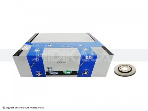 دیسک ترمز جلو ال-پی-آر-LPR اصل ايتاليا مناسب برای پژو405/پارس/سمندمعمولی/زانتیا1800 (2عدد)