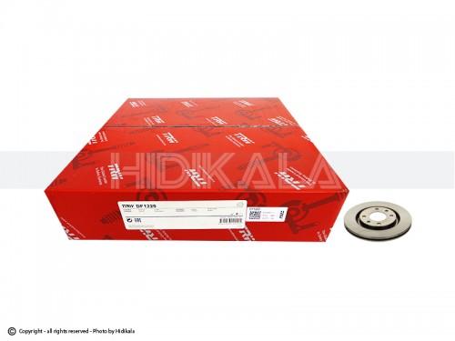 دیسک ترمز جلو تی-آر-دابلیو-TRW اصل اروپا-EU مناسب برای پژو405/پارس/سمندمعمولی/زانتیا 1800 ( 2عدد)