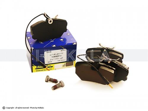 لنت ترمز جلو ام-کو-EMCO شرکتی ایساکو اصل ايران مناسب برای پژو405/پارس/سمندمعمولی
