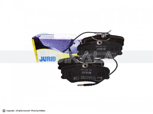 لنت ترمز جلو جورید-JURID اصل جمهوری چک مناسب برای پژو405/پارس/سمندمعمولی