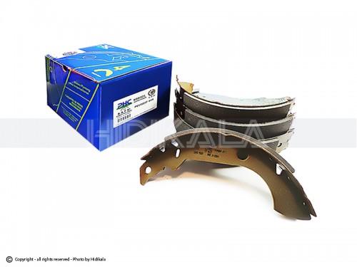 لنت ترمز کاسه ای عقب بدون ABS پي-اچ-سي-والئو-PHC-VALEO اصل كره مناسب برای پژو405 GLX/پارس/سمند