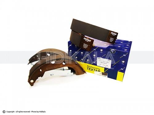 لنت ترمز کاسه ای عقب بدون ABS تكستار-TEXTARشرکتی ایساکو مناسب برای پژو405 GLX/پارس/سمند