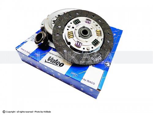 دیسک و صفحه و بلبرینگ(کیت کلاچ) والئو-VALEO پري دمپر زانتیایی شركتي ایساکو اصل تركيه مناسب برای پژو405/پارس/سمند/دنا/زانتیا1800