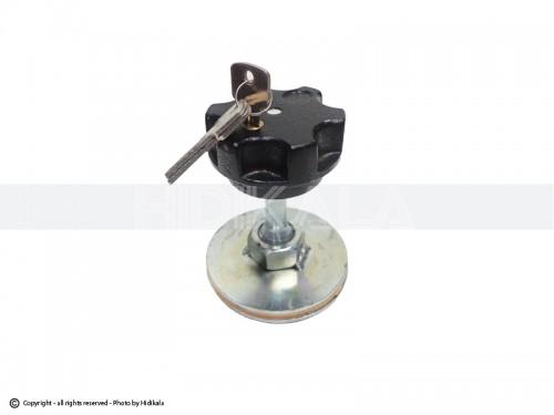 قفل زاپاس هیدیکا اصل وارداتی مناسب برای پژو405/پارس/سمند/دنا