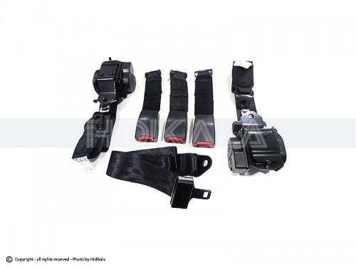 کمربند ایمنی کامل عقب هیدیکا اصل شرکتی (مشکی) مناسب برای پژو 405/پارس/سمند