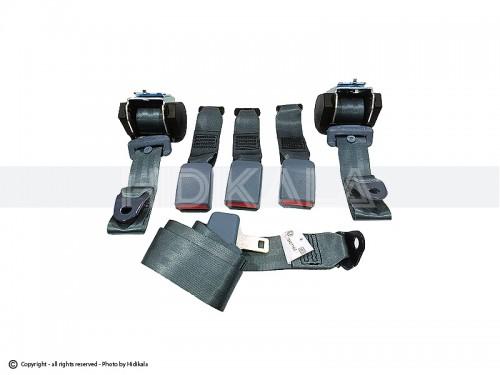 کمربند ایمنی کامل عقب هیدیکا اصل شرکتی (طوسی) مناسب برای پژو 405/پارس/سمند