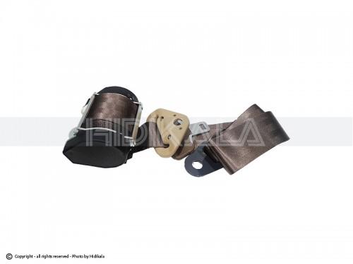 کمربند ایمنی جلو طرح ایربگدار هیدیکا اصل شرکتی (بژ) مناسب برای پژو 405/پارس/سمند (چپ)