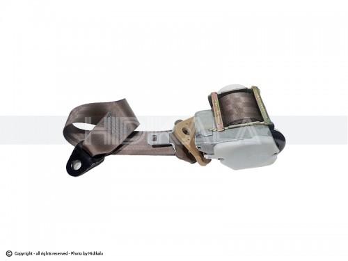 کمربند ایمنی جلو ایربگدار هیدیکا اصل شرکتی(بژ) مناسب برای پژو 405/پارس/سمند(راست)