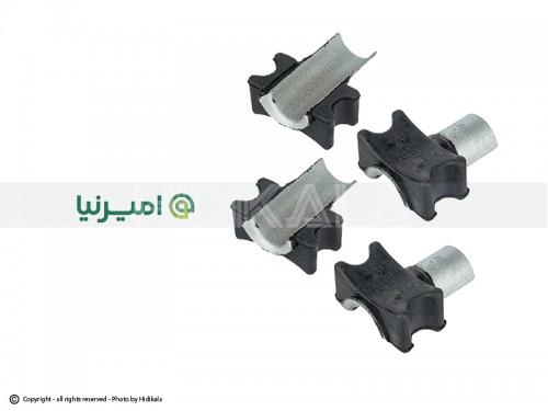 لاستیک میل موجگیر(چاکدار) امیرنیا اصل ايران مناسب برای پژو405/پارس/سمند/دنا (4عدد)