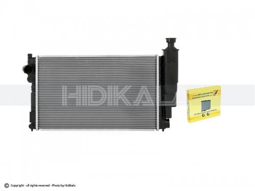 رادیاتور آب تک لول(خاری قدیم) کوشش رادیاتور اصل ايران مناسب برای پژو405 GLX/ پارس/سمند