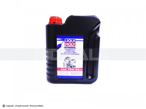 واسکازین(روغن گیربکس) LIQUI MOLY -لیکومولی 2.5لیتری 75W-80 اصل ایران-آلمان