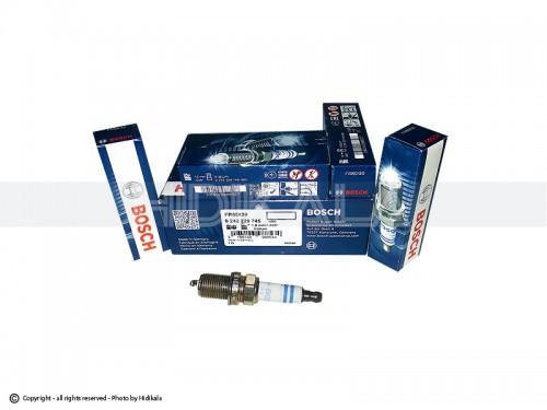 شمع سوزنی پایه کوتاه ایریدیوم(IRIDIUM) بوش-BOSCH اصل آلمان مناسب برای پژو GLX405/پراید/پژو 206تیپ3,2/پژو206 V6,V19,V20 SD/ال90/تیبا/سمند/پارس/ریو/دنا/مگان/زانتیا (4 عدد) شماره فني FR8DI30