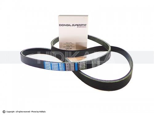 تسمه دینام دانگیل-DONGIL اصل کره مناسب برای پژو405 GLX/پارس/سمند