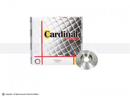 دیسک ترمز جلو پرايد اسپرت کاردینال-CARDINAL اصل هیدیکا (2عدد)