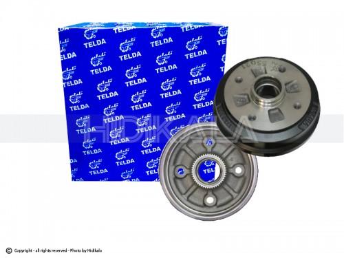 کاسه ترمز چرخ عقب پرايد(با ABS) تلدا-TELDA اصل ايران (1عدد)