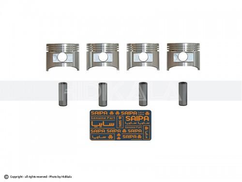 پیستون موتور پراید یورو4 شرکتی سایپا اصل ایران(بدون رینگ-سایز استاندارد)