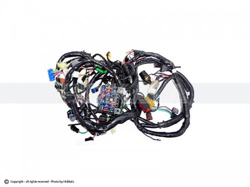 سیم کشی موتور پراید کاربراتور هیدیکا اصل ایران شماره سریال سیم: SK12T67010