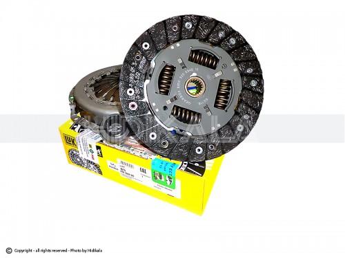 دیسک و صفحه و بلبرینگ(کیت کلاچ) لوک-LUK اصل آلمان مناسب برای رانا/پارسTU5/پژو405 TU5/سمندTU5/پژو206وپژو207(مدل بعد92) شماره فنی:6203084000