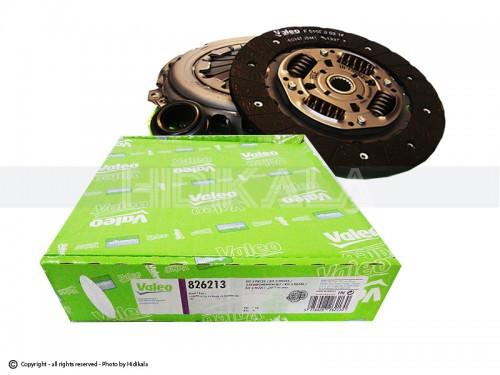 دیسک و صفحه و بلبرینگ(کیت کلاچ) والئو-VALEO اصل فرانسه مناسب برای رانا/پارسTU5/پژو405 TU5/سمندTU5/پژو206وپژو207(مدل بعد92) شماره فنی:826213