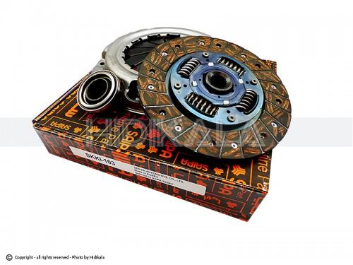 دیسک و صفحه و بلبرینگ(کیت کلاچ) ریو سكو-SECO شركتي سايپا اصل كره