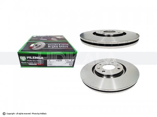 دیسک ترمز جلو پیلینگا-PILENGA اصل ایتالیا مناسب برای زانتیا2000/سمند/دنا (2عدد)