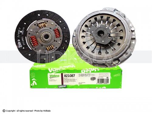 دیسک و صفحه و بلبرینگ(کیت کلاچ) والئو-VALEO اصل اسپانيا مناسب برای زانتيا 2000/دنا و سمند توربو شارژ